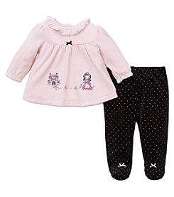 Little Me® Baby Girls' 2-Piece Princess Pants Set