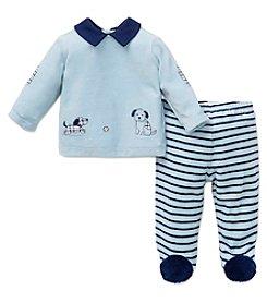 Little Me® Baby Boys' 2-Piece Puppies Pants Set