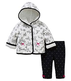 Little Me® Baby Girls' 2-Piece Floral Toile Jacket Set