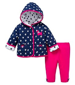 Little Me® Baby Girls' 2-Piece Scottie Dog Jacket Set
