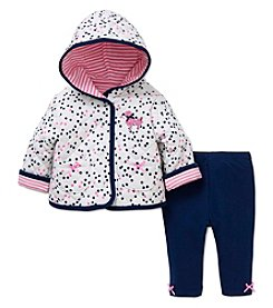 Little Me® Baby Girls' 2-Piece Poodle Jacket Set