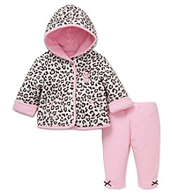 Little Me® Baby Girls' 2-Piece Leopard Jacket Set