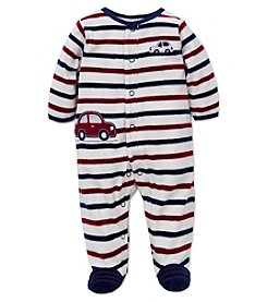 Little Me® Baby Boys Car Footie