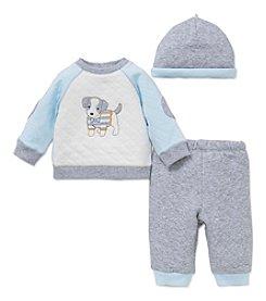 Little Me® Baby Boys' 3-Piece Fun Puppy Pants Set