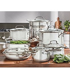 Cuisinart® Contour™ 13-pc. Stainless Steel Cookware Set