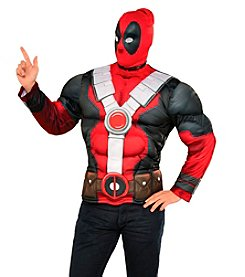 Marvel® Deadpool Muscle Chest Adult Costume Top