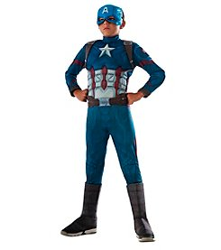 Marvel® Captain America: Civil War Captain America Deluxe Muscle Chest Child Costume