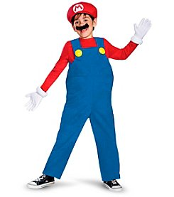 Super Mario Bros: Mario Deluxe Toddler/Child Costume