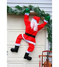 Climbing Santa Decoration