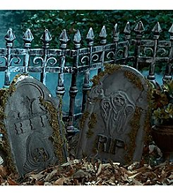 Set of 2 Graveyard Fence