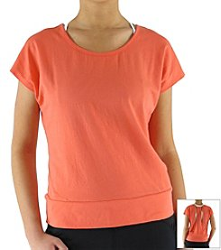 Ryka® Plus Size Open Back Tee