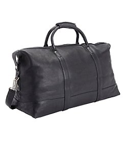 Royce® Leather Colombian Leather Luxury Travel Weekender Duffel Bag