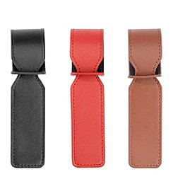 Royce® Leather Luxury Set of 3 Bag Handle Tags