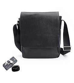 Royce® Leather Executive Crossbody iPad Bag