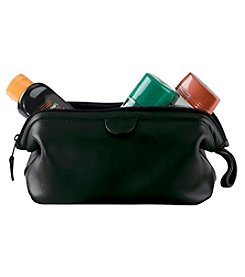 Royce® Leather Luxury Toiletry Travel Wash Bag