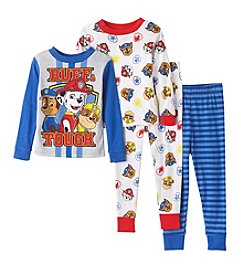 Nickelodeon® Boys' 2T-4T 4-Piece Ruff & Tough Pajama Set