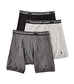 Polo Ralph Lauren® Men's 3-Pack Midway Boxer Briefs