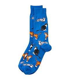 Hot Sox® Men's Cats Dress Socks