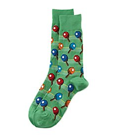 Hot Sox® Men's Ping Pong Dress Socks