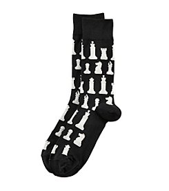 Hot Sox® Men's Chess Dress Socks