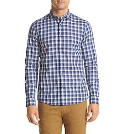 Michael Kors® Men's Slim Fit Alex Plaid Long Sleeve Button Down Shirt