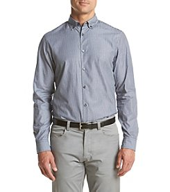 Michael Kors® Men's Tailored Fit Devin Stripe Long Sleeve Button Down Shirt