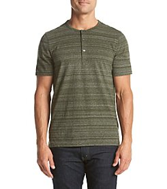 Michael Kors® Men's Short Sleeve Space Dye Henley