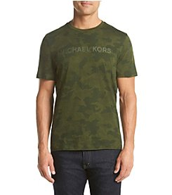 Michael Kors® Men's Short Sleeve Glossy Camo Tee