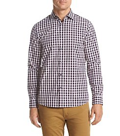 Michael Kors® Men's Tailored Fit Peyton Check Long Sleeve Button Down Shirt