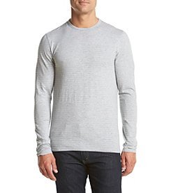 Michael Kors® Men's Slub Strip Long Sleeve Crew Neck Tee