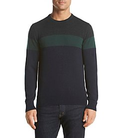 Michael Kors® Men's Wool Blend Colorblock Crew Neck Sweater