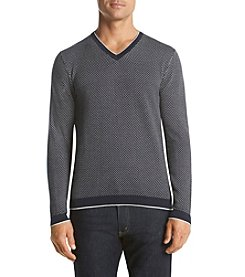Michael Kors® Men's Cotton Dot V-Neck Sweater