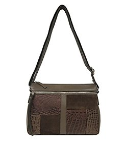 Great American Leatherworks Mixed Media Crossbody