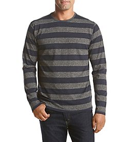 John Bartlett Consensus Men's Siro Long Sleeve Rugby Stripe Tee