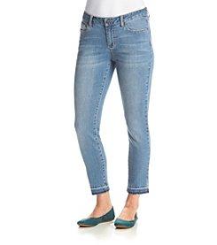 Earl Jean® Release Hem Ankle Skinny Jeans