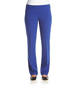 Nine West&Reg; Solid Straight Leg Pants