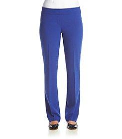Nine West&Reg; Solid Straight Leg Pants