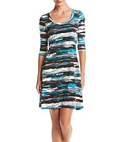 Karen Kane® Ocean Line Dress