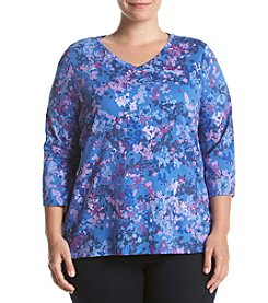 Studio Works® Plus Size V-Neck Knit Top