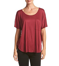 Bobeau® Textured Knit Top