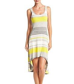 Marc New York Performance High Low Stripe Tank Dress