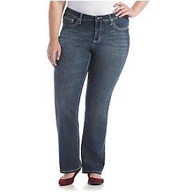 Earl Jean® Plus Size Slim Bootcut Denim Jeans