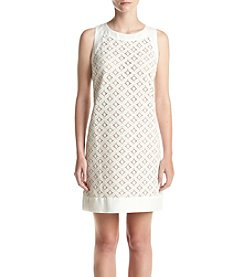 Jessica Howard® Petites' Printed Lace Dress