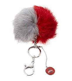 accessory PLAYS™ NCAA® Ohio State University Two-Tone Puff Charm Key Ring
