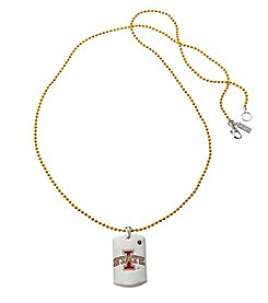 accessory PLAYS™ NCAA Iowa State Dog Tag Necklace
