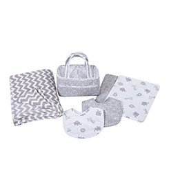 Trend Lab 6-pc. Safari Baby Care Gift Set