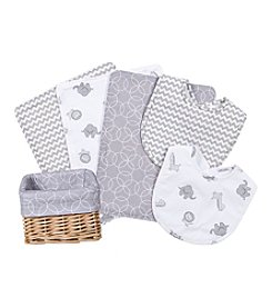 Trend Lab 7-pc. Safari Print Feeding Basket Gift Set