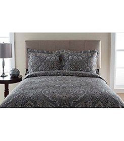 Elite Home Products Del Ray 300-Thread Count Duvet Cover Set