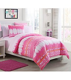 VCNY Home Pink Lemonade Tie-Dye Bed-in-a-Bag