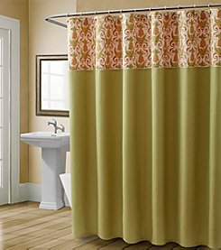 Croscill® Pina Colada Shower Curtain